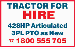 TRACTOR FOR HIRE