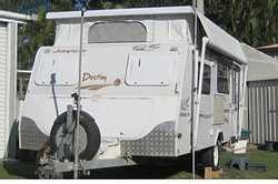 JAYCO DESTINY 17FT POPTOP Reg, sngle axle, toil/show, A/C, 175w solar, gas-elec stove, m/wave, 3-...