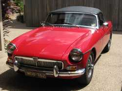 MGB Roadster 1962