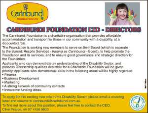 The Carinbundi Foundation is a charitable organisation that provides affordable accommodation and...