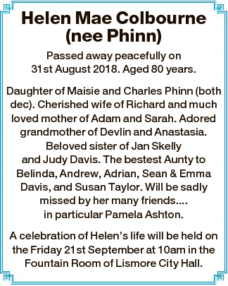(nee Phinn)