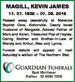 Browsing Death Notices | NSW & QLD Classifieds | Daily Telegraph