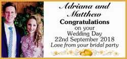 Adriana and Matthew