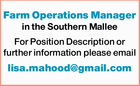 Farm Operations Manager