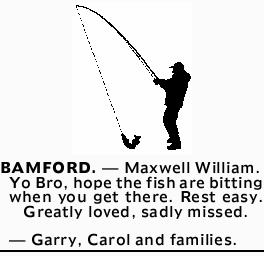 BAMFORD. - Maxwell William.