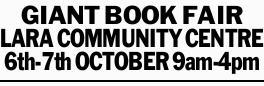 LARA COMMUNITY CENTRE   6th-7th OCTOBER   9am-4pm