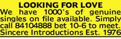 We have 1000's of genuine singles on file available.