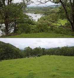 stunning views, rural riverfront, 10 min to Mann river c/van pk, shop, fuel. 35 min to south Graf...