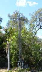 Windup mast
