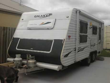 <p> Caravan series 4, long rego, toilet, shower, gas, hot water, solar, </p> <p> rear kitchen...</p>