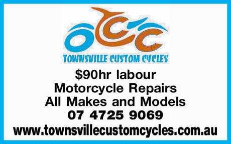 <p> $90hr labour </p> <p> Motorcycle Repairs </p> <p> All Makes and Models </p> <p> 07...</p>