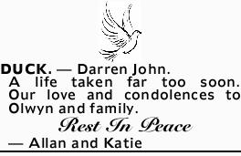 DUCK. _ Darren John.