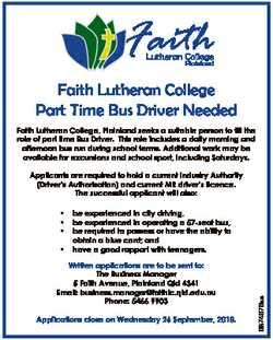 Faith Lutheran College Plainland Faith Lutheran College Part Time Bus Driver Needed Faith Lutheran C...