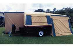 OFF Road Camper Trailer Queen mattress, 2m tow bar, stone guard, 75lt water tank, extra room, reg...