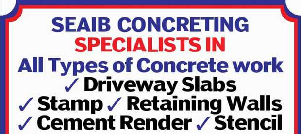 SPECIALISTS IN All Types of Concrete work