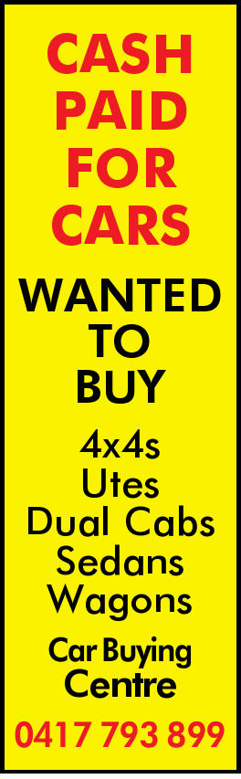 4x4s Utes Dual Cabs Sedans Wagons