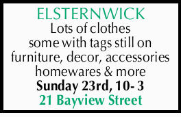 Lots of clothes some with tags still on furniture, decor, accessories homewares & more Sunday...