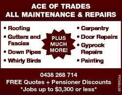 ALL MAINTENANCE & REPAIRS