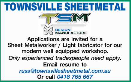 TOWNSVILLE SHEETMETAL