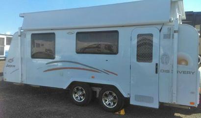 Jayco 2012 Discovery poptop caravan for sale
