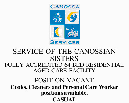 SERVICE OF THE CANOSSIAN SISTERS