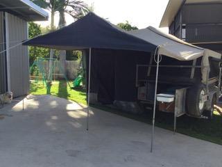CAMPER TRAILER OFF ROAD   QS Bed, Kitchen, 2 x 70 lt Tanks 2 x Batt, gas hot water, toolbox b...