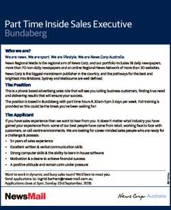 Part Time Inside Sales Executive Bundaberg Who we are? We are news. We are sport. We are lifestyle....