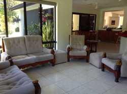6 piece lounge suite
