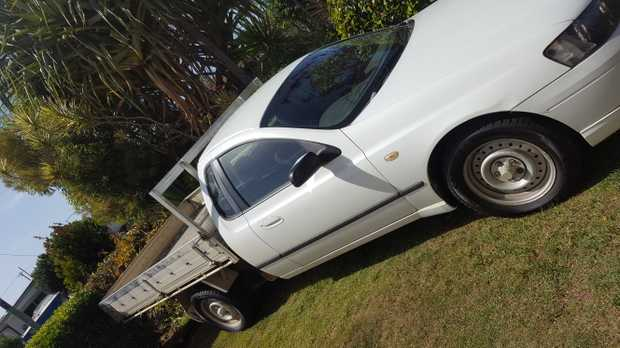 2003 FORD FALCON UTE   RWC New tyres low milage farm vehicle good condition   well mainta...