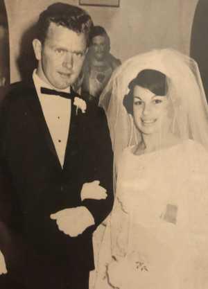Happy 50th Wedding Anniversary Mum!      (28/09/68 - Church of Sacred Heart Murwillumbah). Wish Dad was...