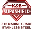 """Supa Shield 316 """"hook-Clamp"""" Security    No bars or unsightly grilles.   $575..."""