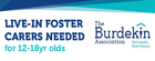 LIVE-IN FOSTER CARERS NEEDED - for 12-18 yr olds