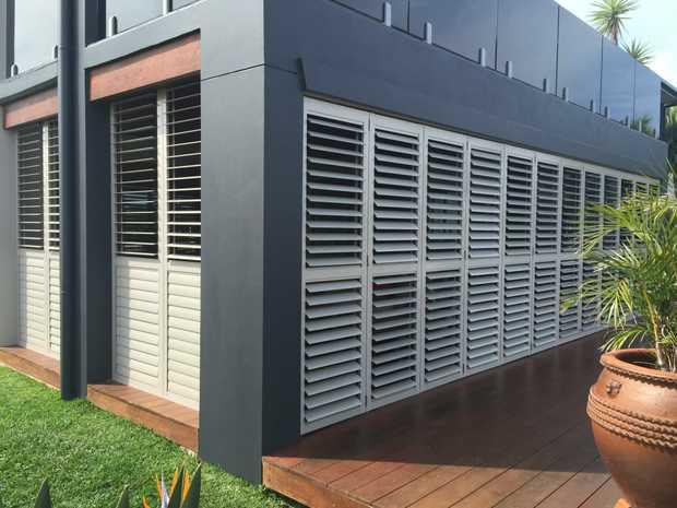 Infinity/ AllviewiQ/ Aluminium    K&B's plantation shutters are deliverable...