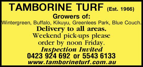 Established in 1966    Growers of: Wintergreen, Buffalo, Kikuyu, Greenlees Park, Bl...