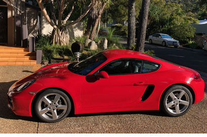 <p> PORSCHE CAYMAN </p> <p> AS NEW </p> <p> ONLY 5120 KMS </p> <p> 1 private owner since...</p>