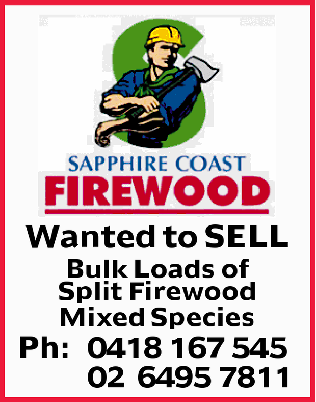 Wanted to SELL Bulk Loads of Split Firewood Mixed Species Ph: 0418167545 02 64957811