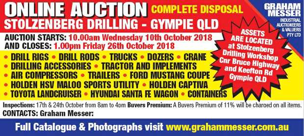 STOLZENBERG DRILLING - GYMPIE QLD