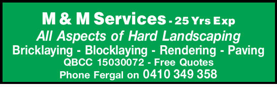 25 Yrs ExpAll Aspects of Hard Landscaping