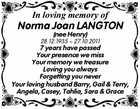 Norma Joan LANGTON