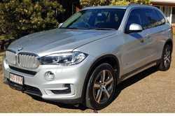 For Sale; 2014 BMW X5 $50,000 neg. Sports Automatic, Wagon 6cyl 3.0L,73879km Glacier Silver wit...