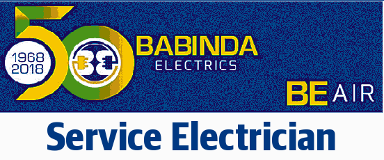 Permanent position for a service electrician. Vehicle based position doing commercial elect...