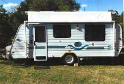 JAYCO 2002 Freedom 16ft Pop Top, excel cond, dbl bed, reverse a/c, solar panel, m'wave, 3wa...