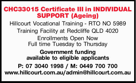 Hillcourt Vocational Training - RTO NO 5989 Training Facility at Redcliffe QLD 4020 Enrollm...