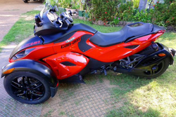 2012 Can-Am Spyder RSS - $10000Excellent condition, one owner, 12000kms, registered until Jan 19, to...