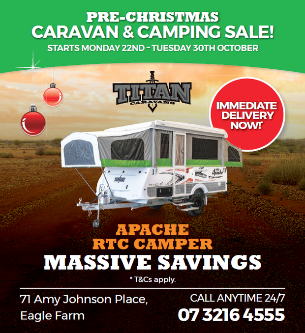 PRE-CHRISTMAS CARAVAN & CAMPING SALE!
