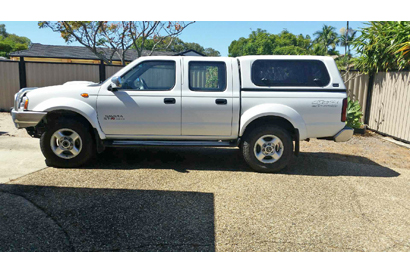 2014 Nissan Navara STR D22 dual cab ute, 46,200kms, extended W'ty 8/19, no off-road use, re...