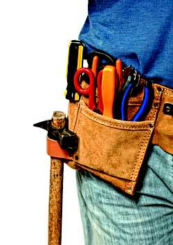 For all home/building maintenance repairs.
