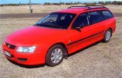 SOLD - 2004 VZ Commodore Wagon 174,000 kms, books, full service hist, V6 auto, A/C, trip comp, el...