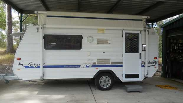 Gazelle New Generation Infinity 15ft Pop Top W/ Awning   Excellent condition accessories incl...