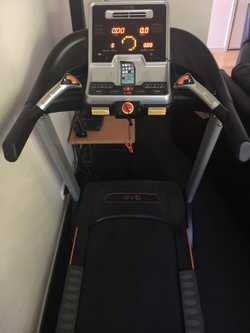 Quest Evo Treadmill has 31 workout programs, measures heart rate, body fat etc. Has MP3 USB, SD Card...